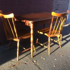 """60er Jahre """"Tisch, Bank und Stühle"""""""