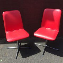 """Einfach """"2 rote Stühle"""""""