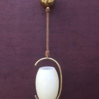 """Lampe 30er Jahre """"Single egg"""""""