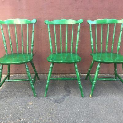 Green hornet Western Stühle